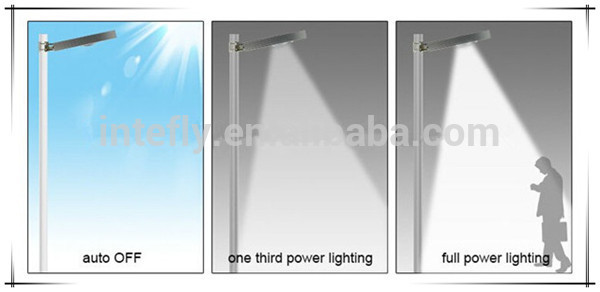 list of manufacturing company solar led street light (zt-215 babbitt) with pole IP66 Rated