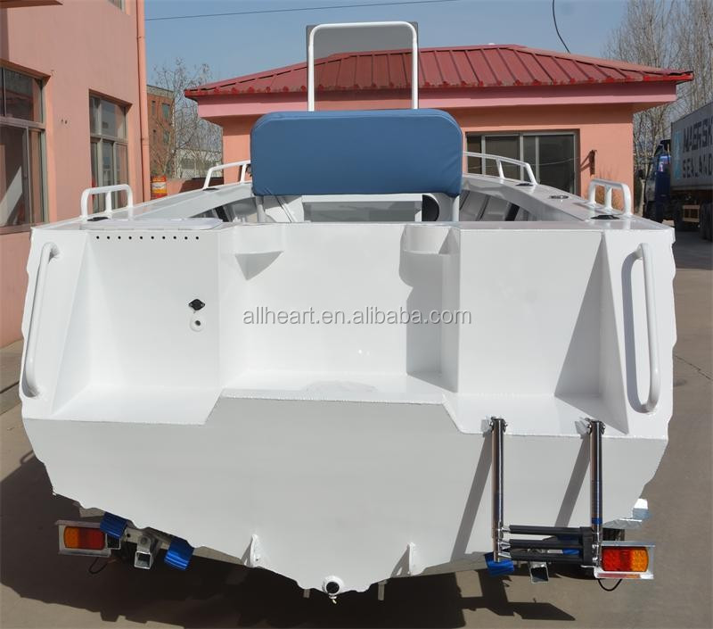 5m center console aluminum boat for fishing