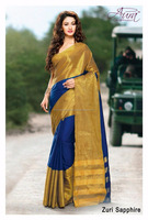 EXCLUSIVELY SILK COTTON DESIGNER SAREES WITH ATTACHED BLOUSE ON WHOLESALE PRICE INDIAN SAREE