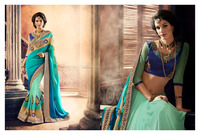 GORGEOUS SEMI BRIDAL SAREES