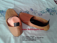 Slippers for Diabetic Patients (Light Weight) | 100% Leather Made | Golden & Black