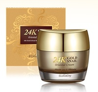 24K Gold Snail Oriental Cream Korea Quality Face Cosmetic Cream Firming & Brightening