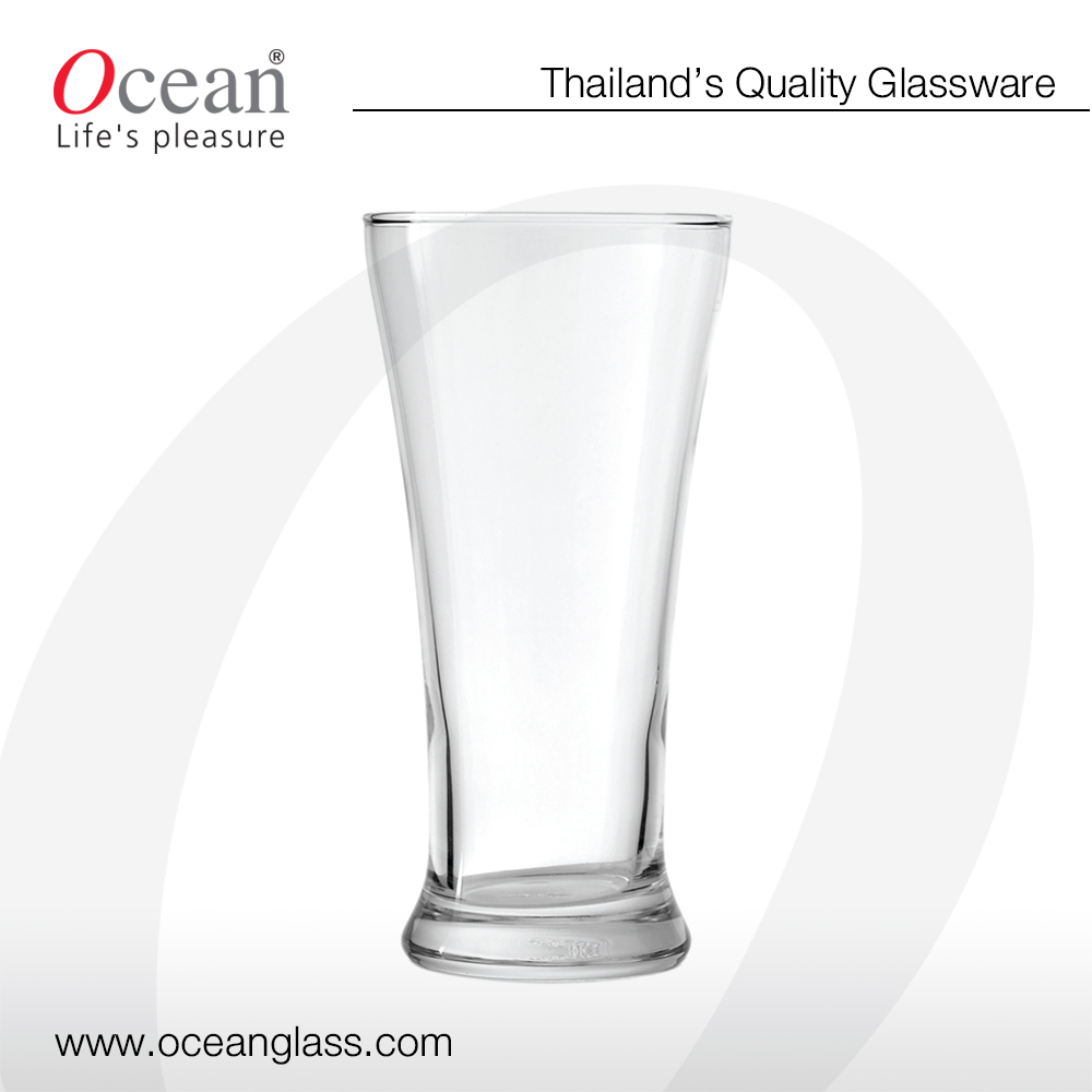 Pilsner Glass 340ml- Ocean glass beer pilsner glass Quality pilsner beer glass