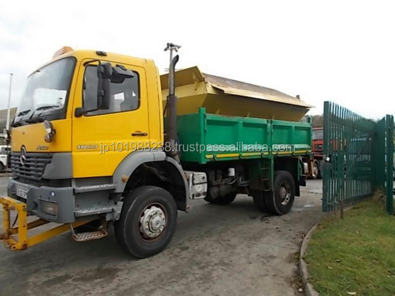 USED TRUCKS - 2002 ATEGO 1823 4X2 TIPPER (RHD 1801266)