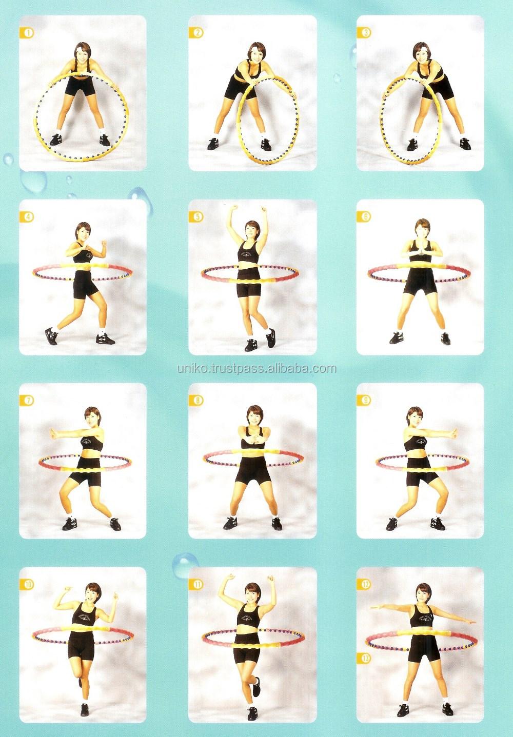 Tubuh Kebugaran Hula Hoop Slim Perut Latihan Pijat Kesehatan Untuk