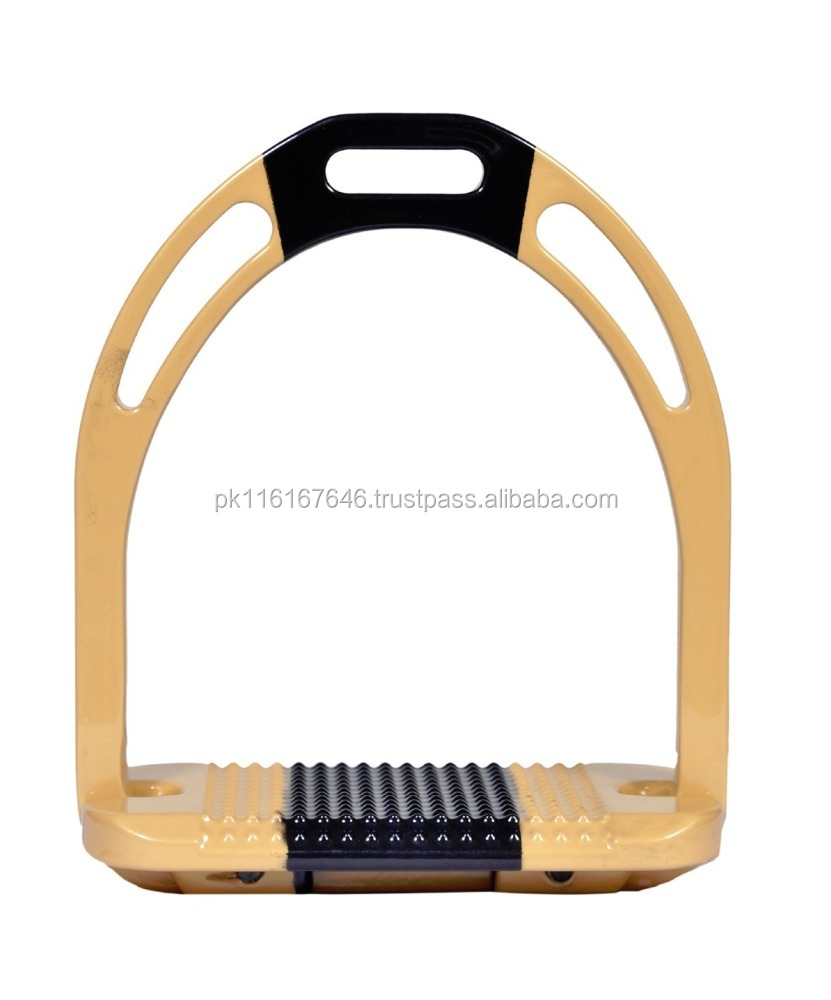 New type Style Satin Finish Colour Horse Stirrups- Horse Equipments - Horse Racing Gears