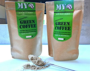 MY GREEN COFFEE POWDER NATURAL, ORGANIC BEST FOR DIET
