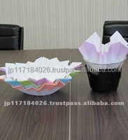 Durable and Easy to use base paper for paper pot cooking pot with Functional made in Japan