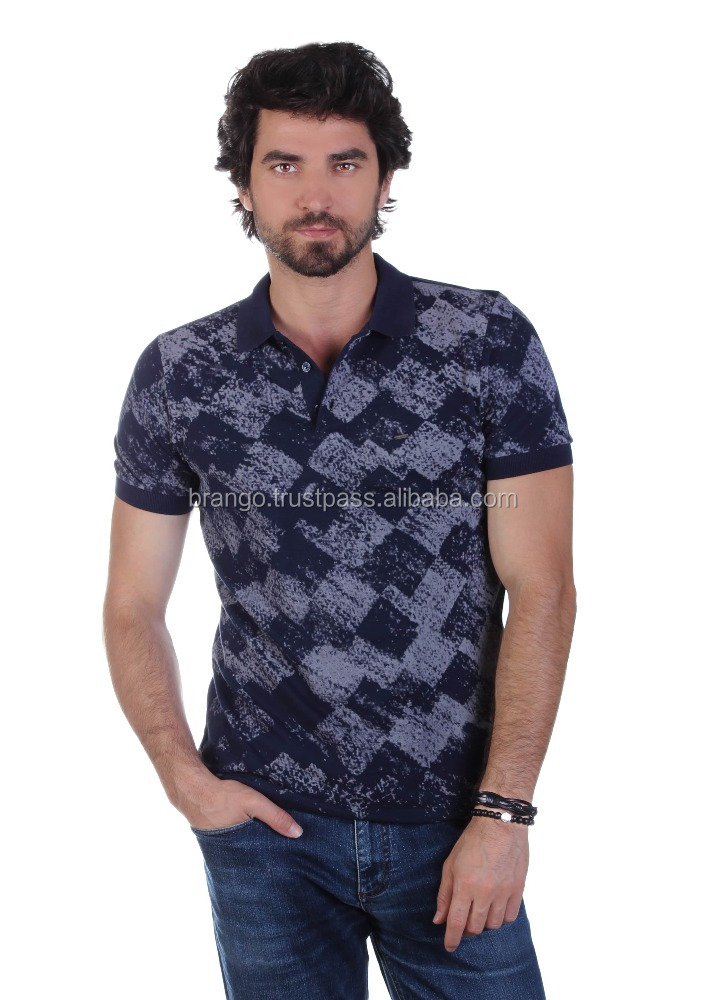 Abstract Design Polo T-shirt