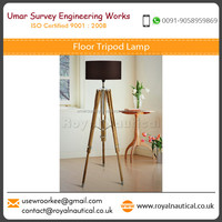 Superior Performance Oriented Robust Structure Tripod Stand Floor Lamp