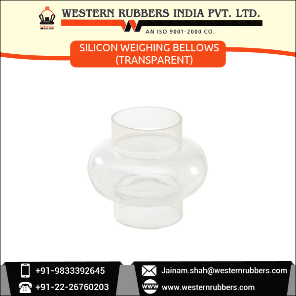 Best Quality Transparent Silicon Weighing Bellows