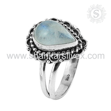 Stunning ! Handmade Silver Jewelry, Handmade Silver Jewellery Supplier, Gemstone Indian Silver Jewelry Ring Manufacture