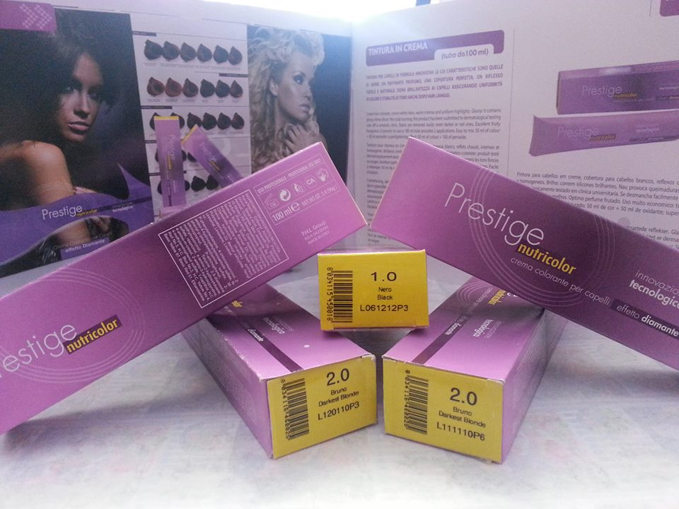 PRESTIGE NUTRICOLOR HAIR COLOR CREAM COLOUR DYE
