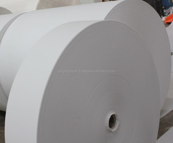 CHEAP PRICE FOR OVERSTOCK  200 -210MM WIDTH MOTHER JUMBO ROLL PAPER FROM VIETNAM