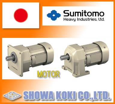 Reliable and high efficiency concrete mixer motor made in Japan