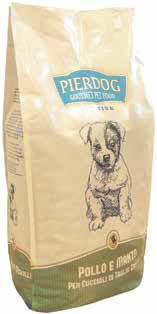 Pet food (dog and cat foods: meat and fish)