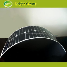 semi flexible solar panel 150w