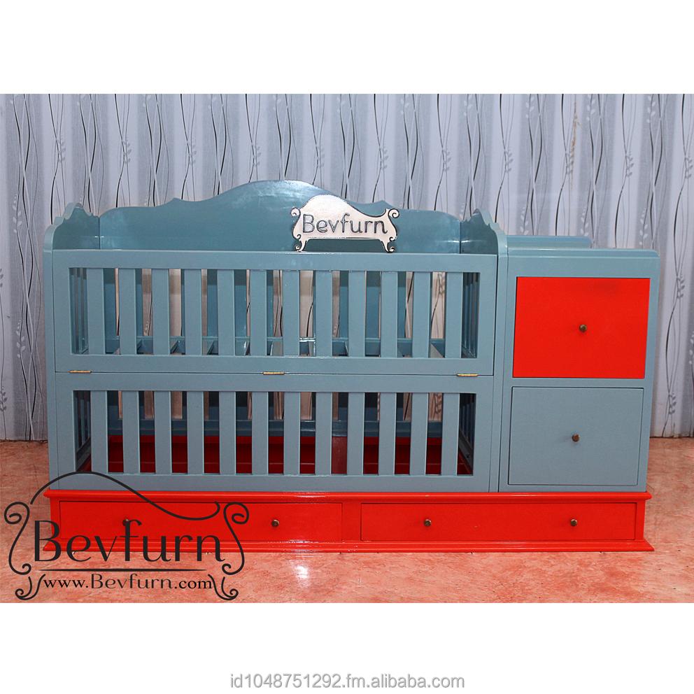 Clarine Baby Cribs Buy Custom Made Wood Baby Crib Product On