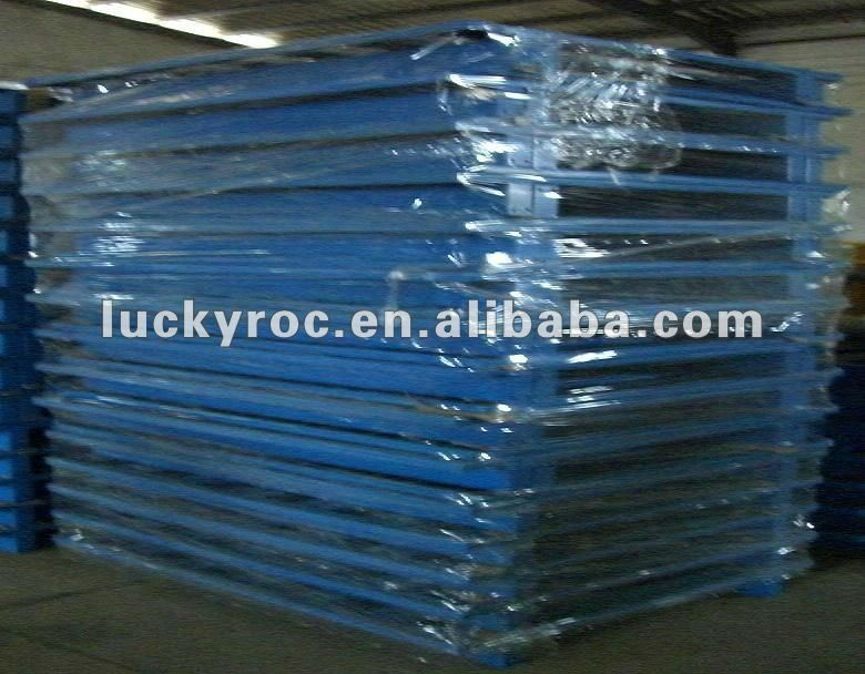 heavy duty steel pallet for ware house storage