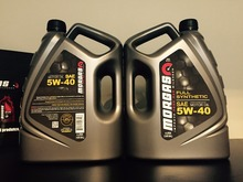 MorGas Full Synthetic 5W30 Motor Oil, 1 US GAL (3.785 Liters)
