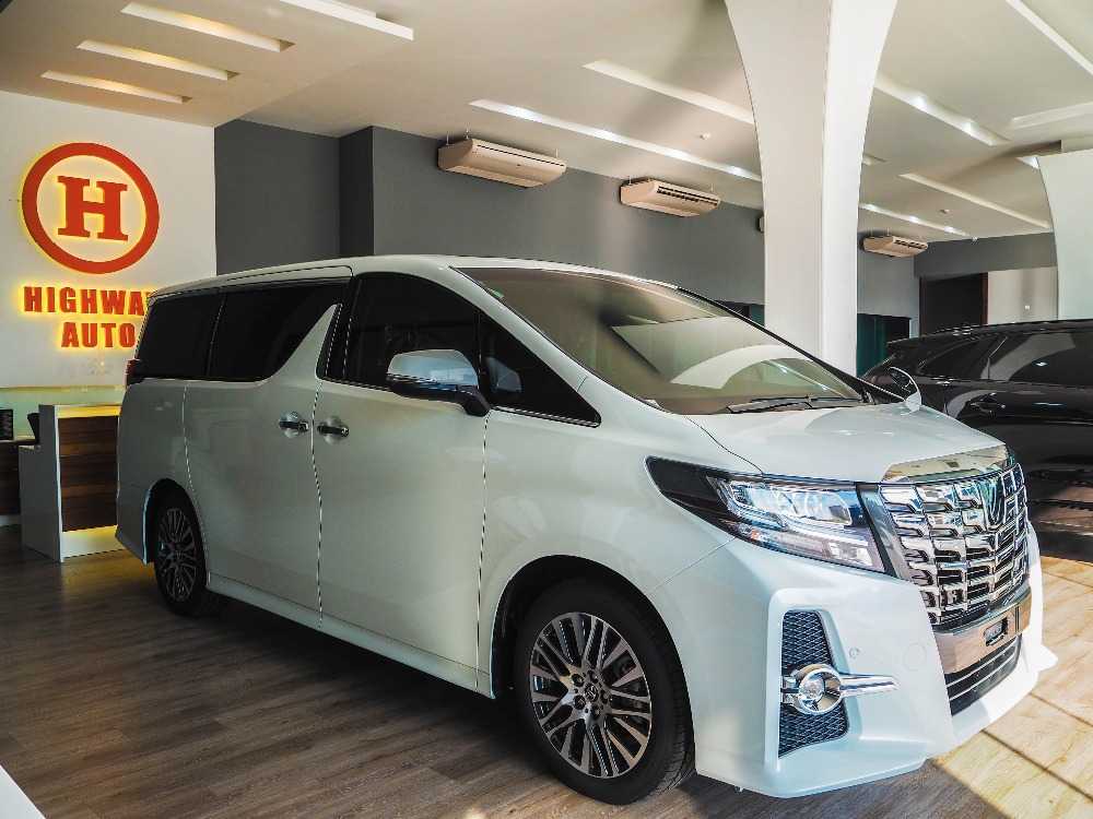 Alphard SC Package