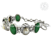 charming Bracelet 925 Silver Jewellery Wholesaler Indian Silver Jewelry 925 Sterling Silver Bracelet