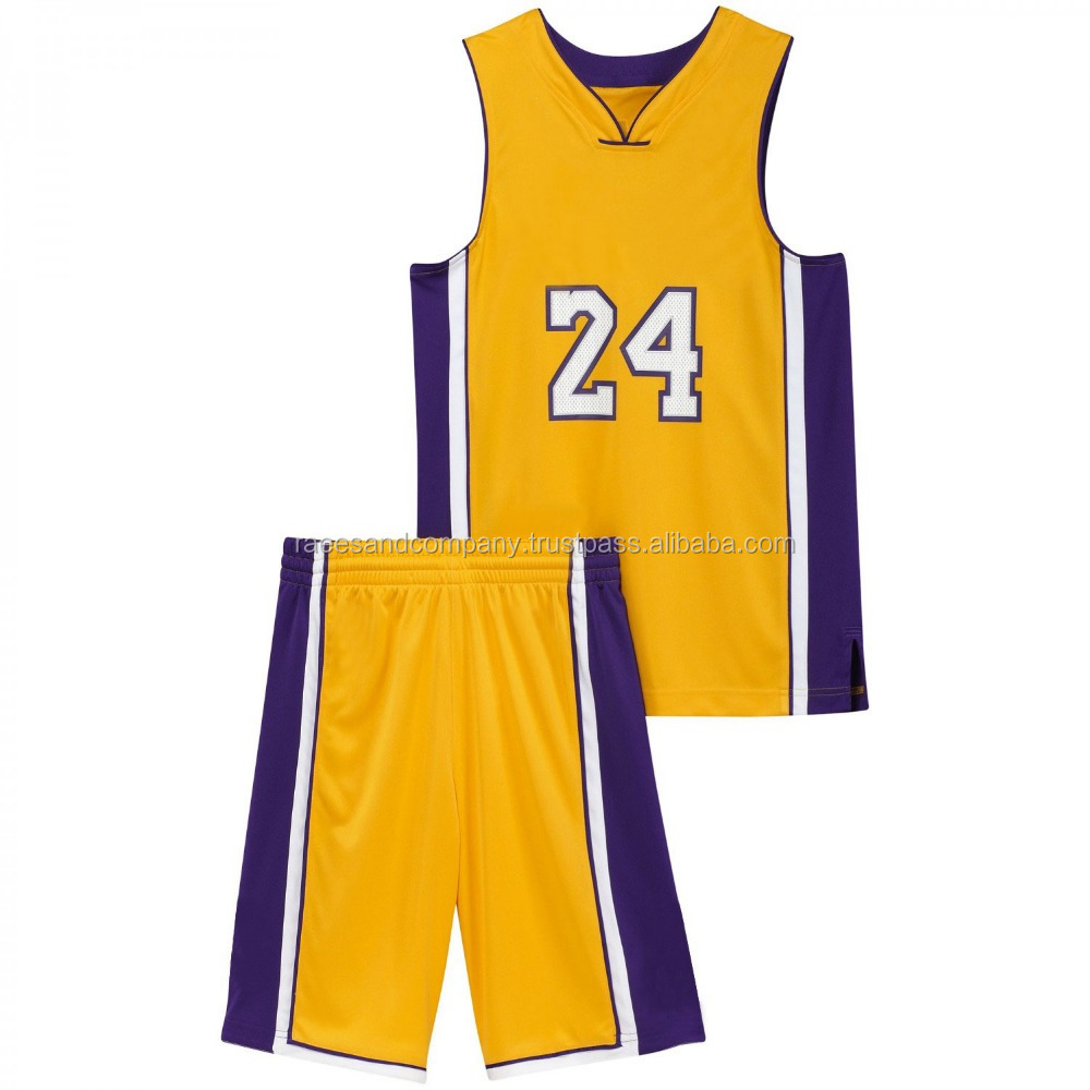 Basket Ball Uniforms Made with breathable fabric 100% polyester and fully customized with team name and numbers