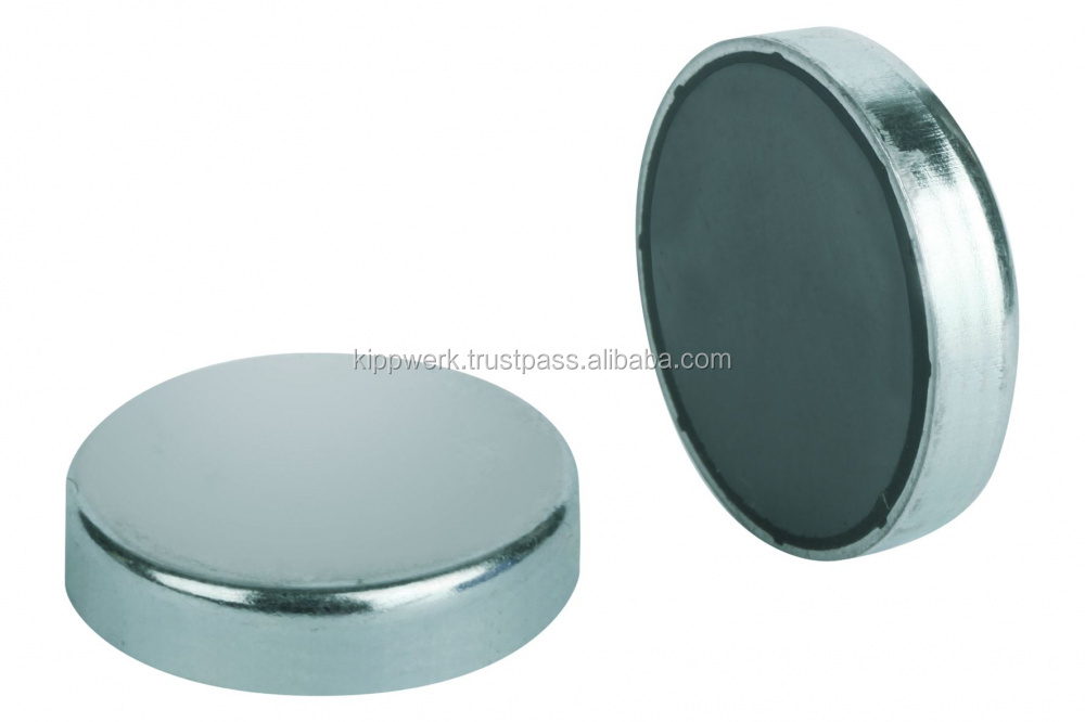 Magnets shallow pot hard ferrite