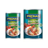 Delicious Canned MACKEREL Fish in Tomato Sauce 155 g