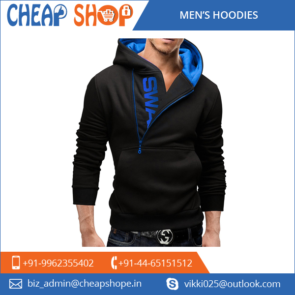 Authentic Manufacturer Supplying Customized Long Sleeves Men's Hoodies