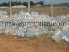 Hot washed 100% clear PET bottle scrap / PET flakes /recycled PET Resin Factory