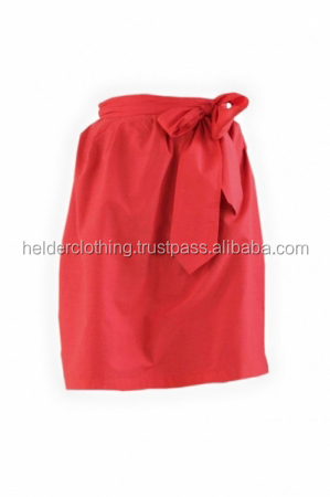 Beautiful Red Bavarian Custom Trachten dirndl Apron for Ladies