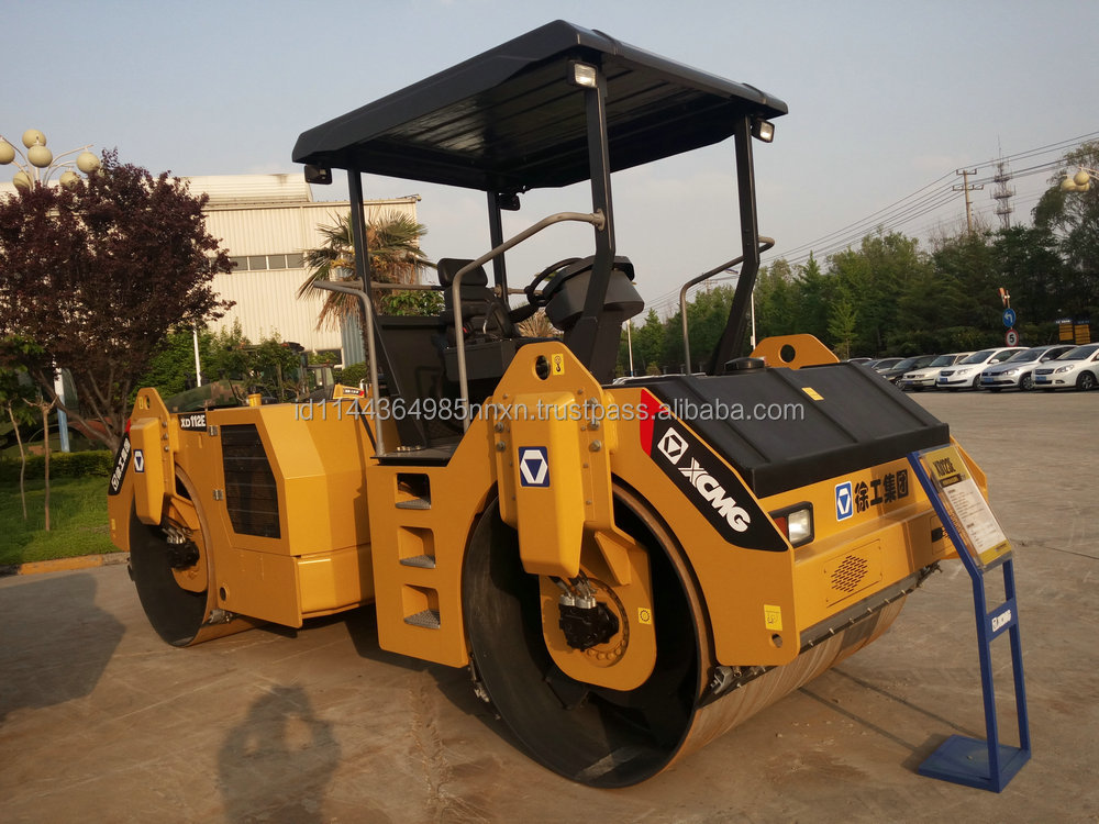 DYNAPAC XCMG XD133 double drum roller 13 ton road roller for sale Made in China sell