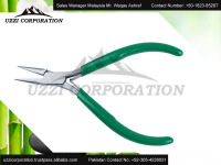 4.5''/5'' Inch Bent Nose Pliers,Soft Grip Handle Mini bent nose pliers for Jewelry