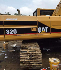 Good Condition Used Caterpillar Excavator 320 Japan