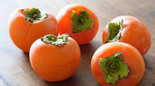 make supermarket fresh persimmon fruits for sale