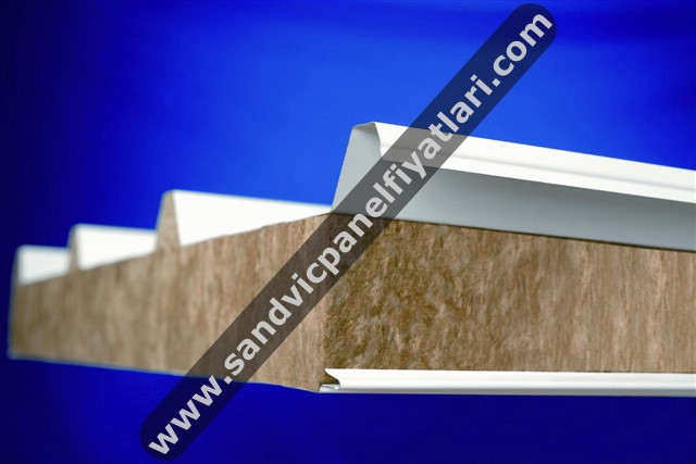 Rockwool Sandwich Panel For Roof / Wall