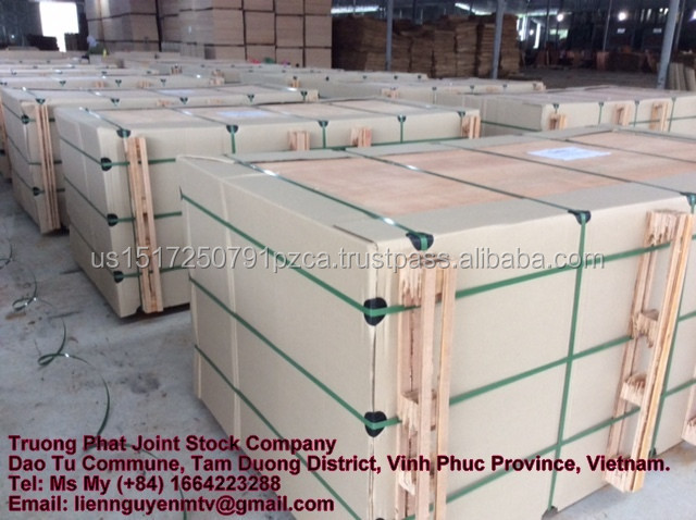 High quality natural veneer construction Plywood from Truong Phat plywood company