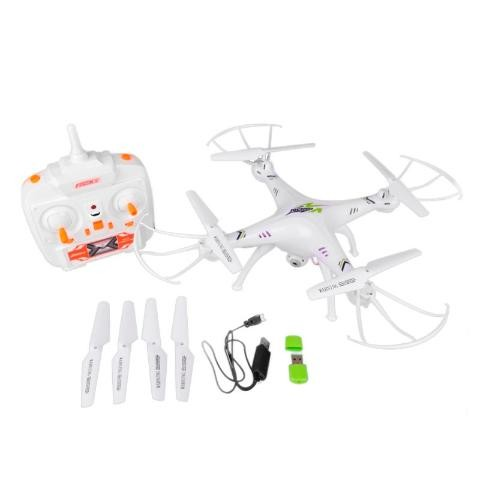 Cheap Strong RC Drone 4 axis drone with LED VS SYMA x5c XS801