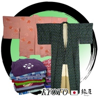 Assorted used Kimono batik Japanese Traditional Garment