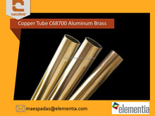 High Quality Copper Condenser Tube / Pipe C68700 Aluminum Brass