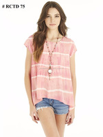 Manufacturer Of All Types Of Girls Fashionable Tie & Dye Tops Tunic , India