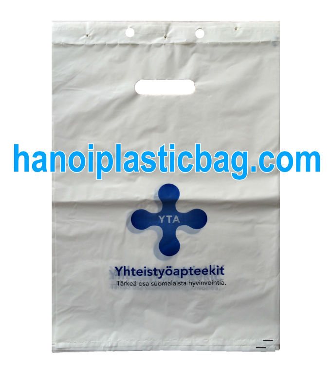 PE blockhead plastic bags carry food safety for health