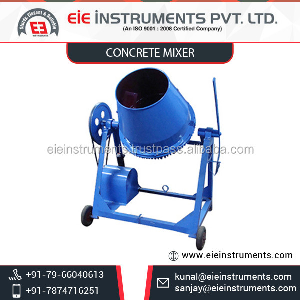 Efficient Speedy Concrete Mixer from Certified Manufacturer