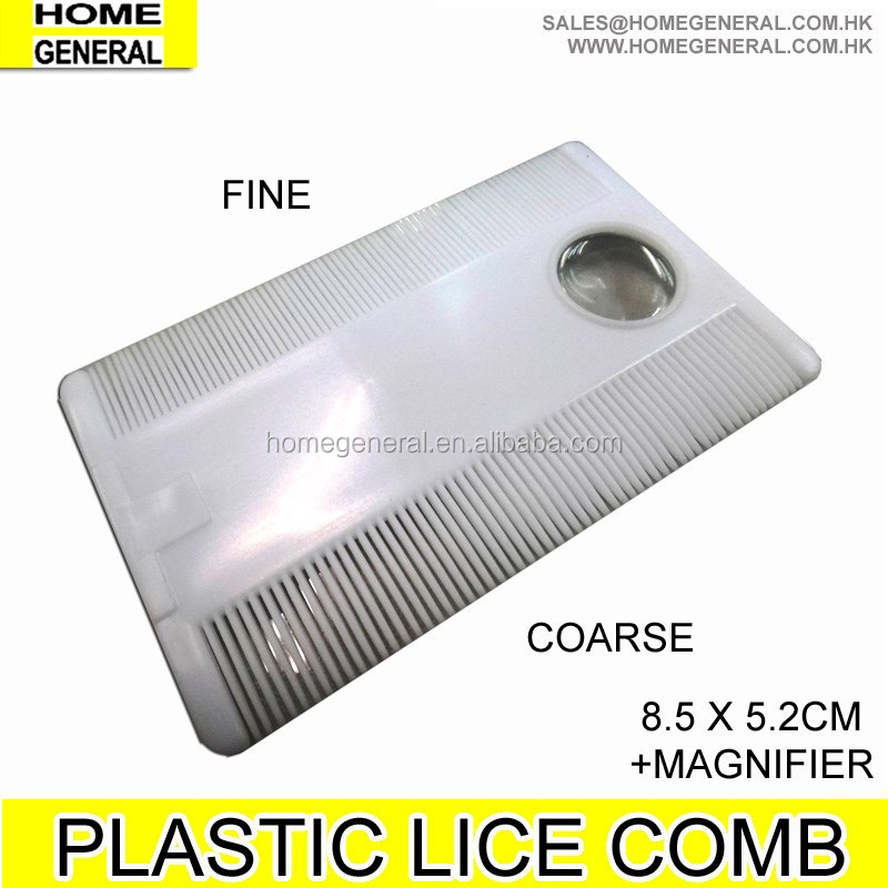 LICE COMB, METAL PIN LICE COMB AND PLASTIC LICE COMB SET, NIT LICE COMB SET