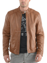 Leather Jackets Men selecting well/ Classic Zip Leather Jacke