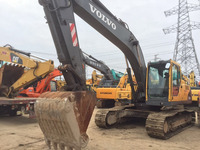 Used good condition volvo excavator 210