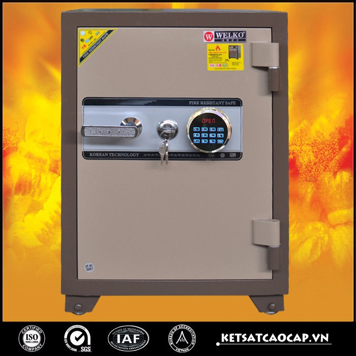 High quality fireproof safe, home safe box, security safe for valuable - KS140 E