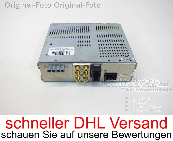 TV Tuner Mercedes for Benz S-Klasse W220 BE7031 A2118200597 Becker