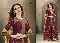 ELEGANT ANARKALI EMBROIDERED LADIES SUITS